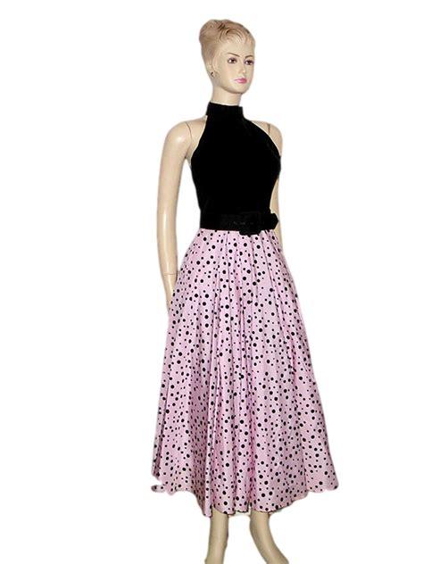 Silk Velvet Pearl Square vintage neiman swing dress gown with black silk