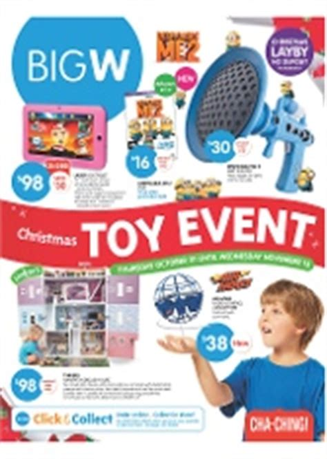 big w christmas toy event
