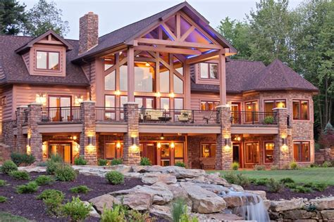 luxury log homes plans custom luxury log cabin home photos joy studio design