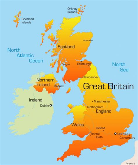 map of the united kingdom leisure travel e west education services sdn bhd