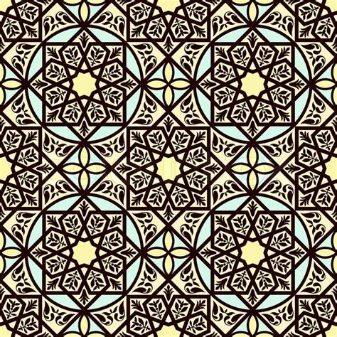 arabic islamic pattern background vector vintage arabic and islamic background ethnic style