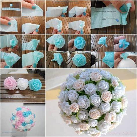 How To Make Beautiful Flowers Out Of Paper - kwiaty z bibu蛯y krok po kroku kobieceinspiracje pl