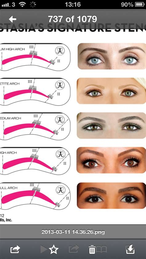 most common eyebrow shape 17 best images about perfect brows on pinterest full