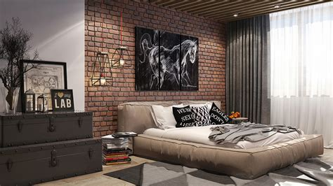 loft style bedroom loft style bedroom on behance