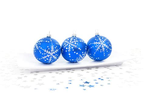 blue bauble decoration free stock photo public domain