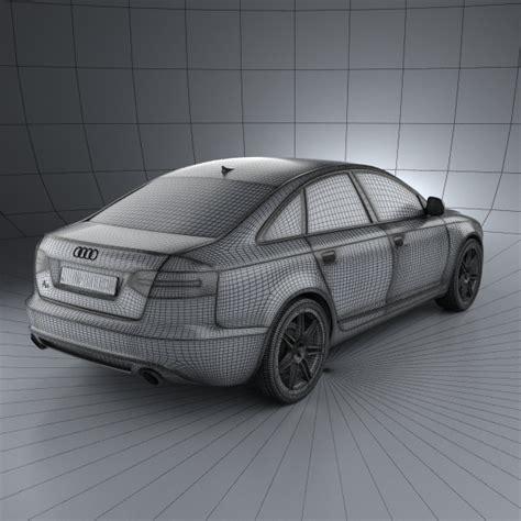 Audi A6 Modell by Audi A6 C6 Sedan 2011 3d Model Hum3d