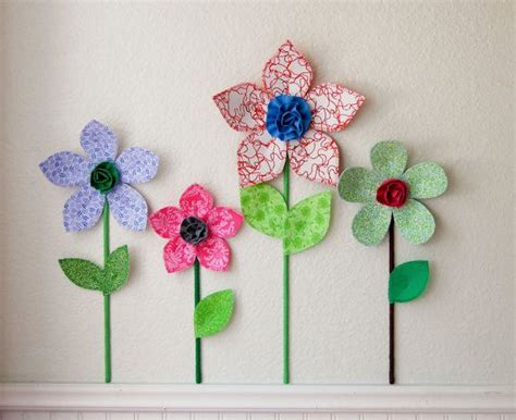3d flower wall decor room wall decal fabric wall