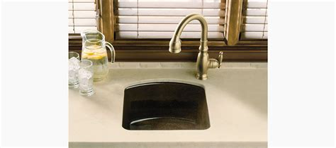 kohler napa bar sink napa mount bar sink with two faucet holes k 5848