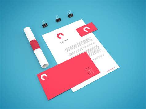 material design mockup maker 35 branding identity stationery psd mockup templates