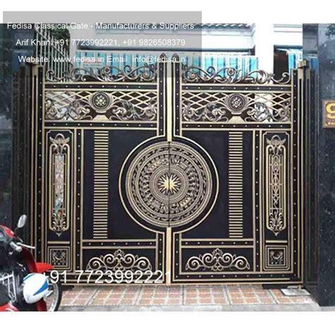 simple iron gate designs  gate design front gate