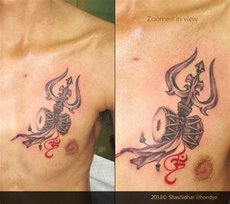 tattoo designs om trishul custom triśhūla is a type of south asian trident
