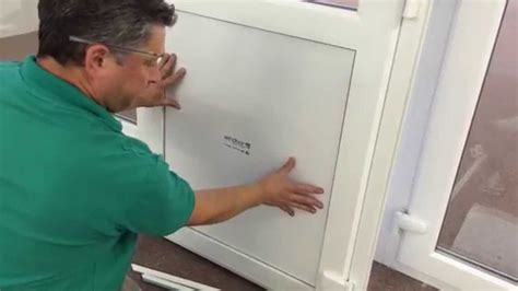 How To Replace A Pvc Door Panel Funnydog Tv