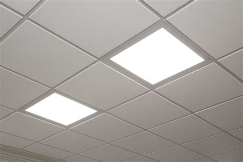 Grid False Ceiling Materials Suspended Ceiling Grid Light Panels Enhancing The Look