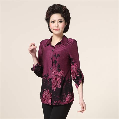 clothes for 45 year old women blouses for middle aged women 45 to 60 years old long