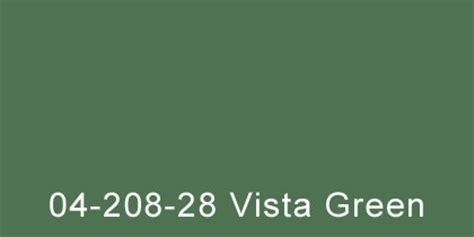 vista green radiator paint
