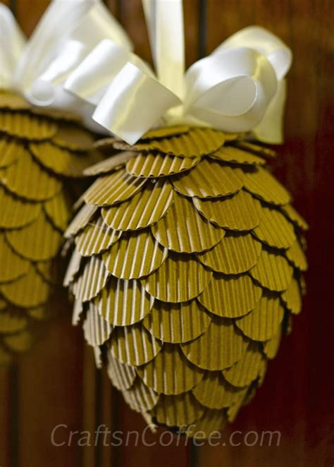 Corrugated Paper Craft - a corrugated cardboard craft and the winners announced