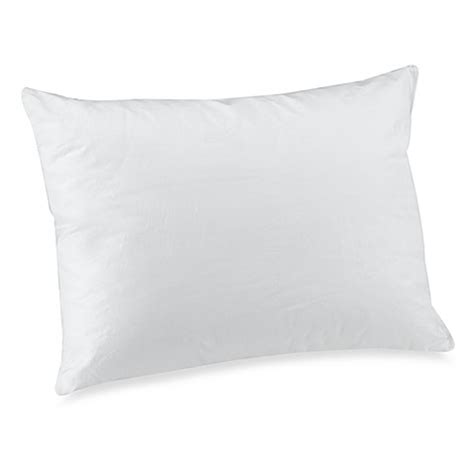 bed bath and beyond husband pillow indulgence synthetic down alternative travel pillow bed