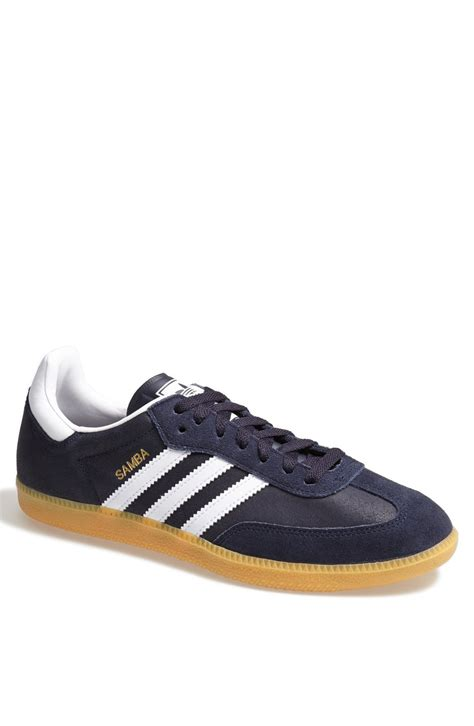 adidas samba sneaker in gold for legend ink white gold lyst