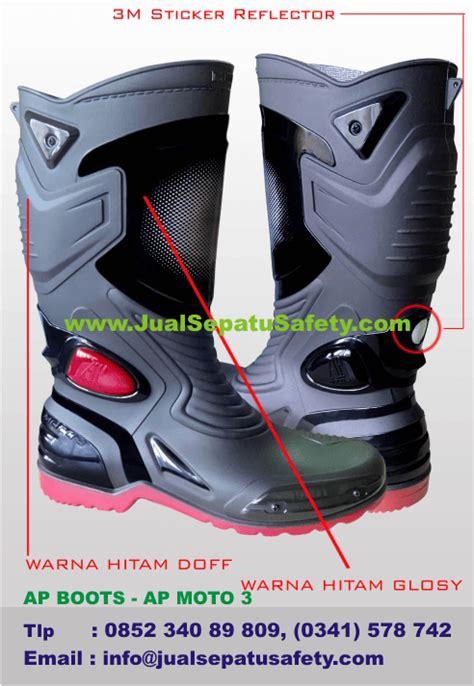 Sepatu Ap Boot Moto 3 sepatu ap boots ap moto 3 jualsepatusafety