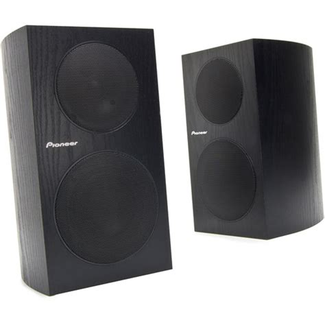 pioneer bookshelf speakers sp bs21 lr walmart