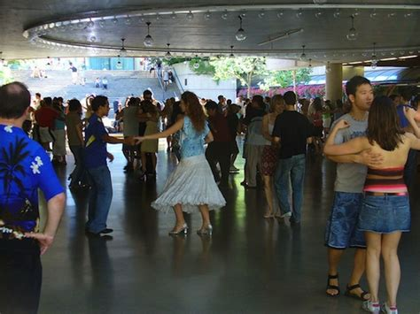 swing dance vancouver summer sizzle free salsa and ballroom dancing at