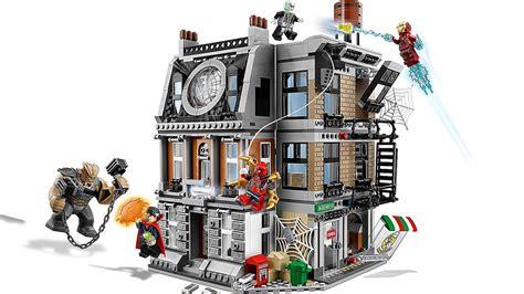 Xl931345 Ciat 3in1 Spider Set Lego Marvel Infinity War Sets Revealed