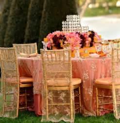 decoration de mariage corail