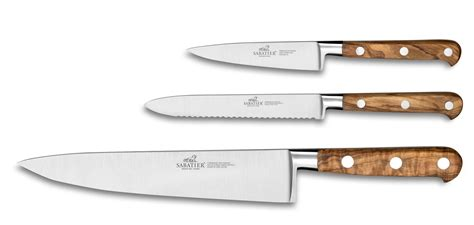 sabatier kitchen knives sabatier 3 piece kitchen knife set proven 231 ao series