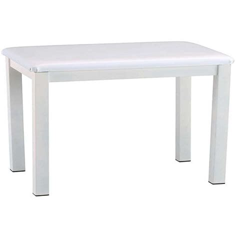 roland piano bench roland pb 450wh piano bench satin white pb 450wh b h photo