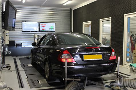 S Heerenberg Auto Tuning by Chiptuning Mercedes W211 E55 Amg 476pk Tunex