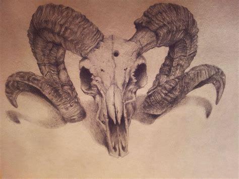 animal skull tattoo ram skull idea tattoos tattoos ram skull