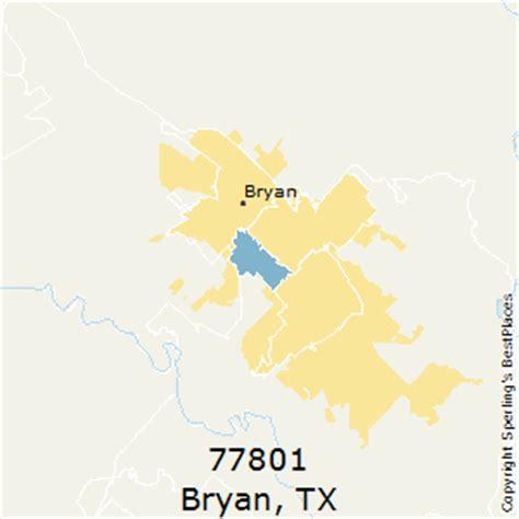 bryan texas zip code map best places to live in bryan zip 77801 texas
