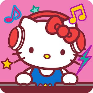 hello kitty music party kawaii and cute! android apps
