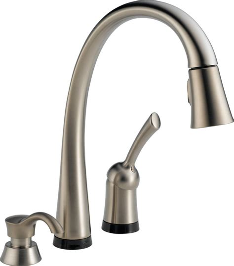 delta touch kitchen faucet most popular kitchen faucets and sinks 2017