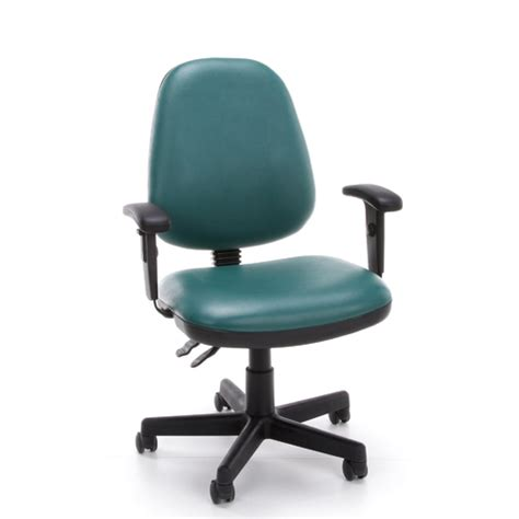 Vinyl Office Chair by New Ofm Posture Office Task Adjustable Vinyl Chair Arms