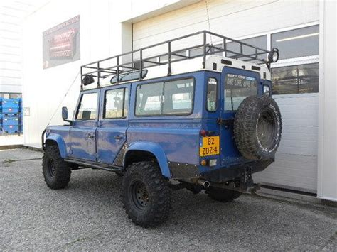 land rover 110 road sell used 1985 land rover defender 110 sw 200tdi 9 seats