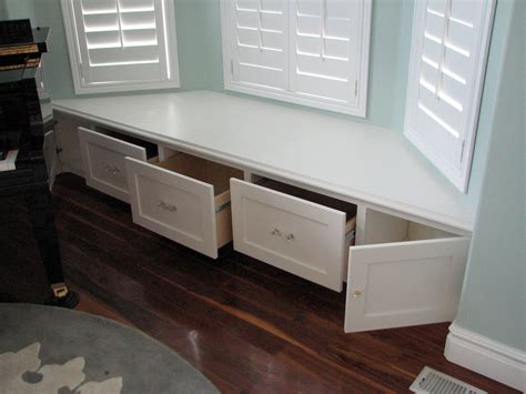 bay window bench plans decoration bay window benches with storage and locker