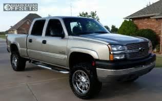 wheel offset 2003 chevrolet silverado 2500 hd slightly