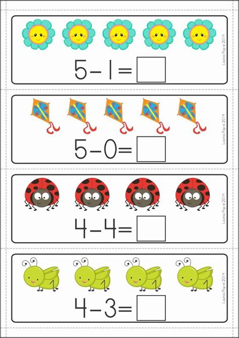 Math Center Worksheets by Subtraction Center Ideas For Kindergarten 1000 Ideas