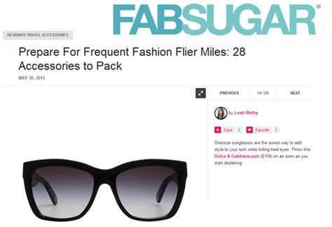 Friday Fab News Roundup Fabsugar Want Need 30 by Fab Sugar Designer Travel Accessories Thelook Coastal