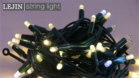 led string lights outdoor use rubber wire led string light for indoor and outdoor use