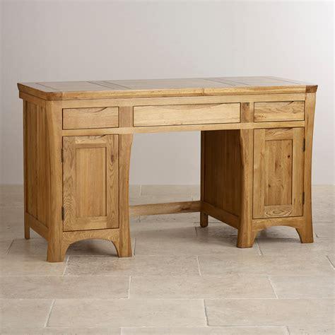 oak furniture land computer desk orrick computer desk rustic solid oak oak furniture land