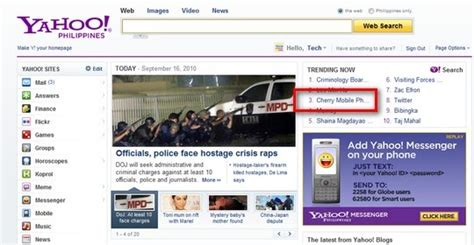 Yahoo Search Philippines Cherry Mobile Q7i Phone Sale Gives Cherry Yahoo Search Trending Status Techpinas