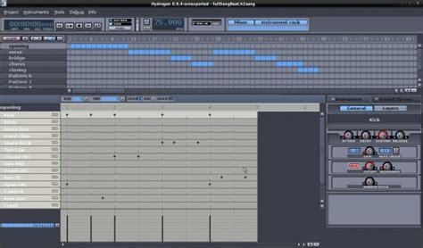 tutorial hydrogen drum machine create beats with hydrogen drum machine