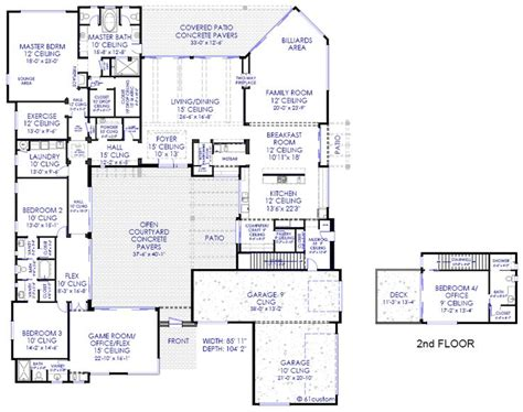 floor plans with courtyards best 20 courtyard house plans ideas on