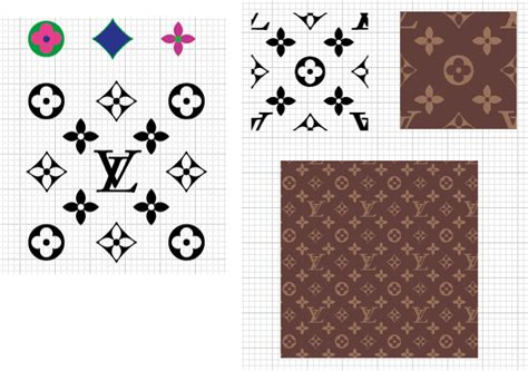 pattern louis vuitton vector 723px