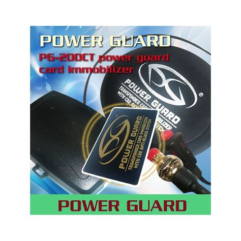 Alarm Power Guard buy power guard pg 200ct 3 way engine card immobilizer