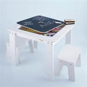 kids reversible white chalkboard table modern kids