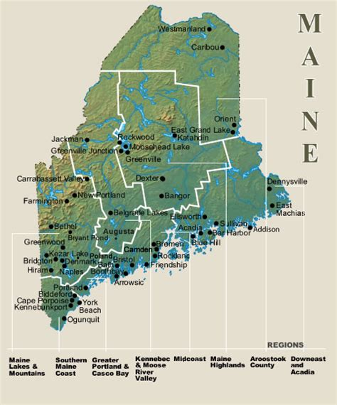 Search Maine Maine Vacation Rental Map Find Rentals