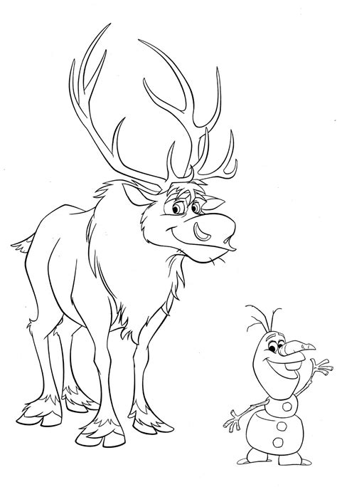 Disney Frozen Coloring Pages To Download Disney Frozen Coloring Page